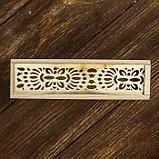 Шкатулка под роспись «Орнамент», дерево, 4 × 19,3 × 5,5 см, фото 3