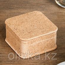 Шкатулка для декора из МДФ 6,5х6,5х3,5 см