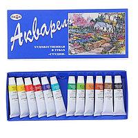 Акварель художественная набор в тубе 12 цветов х 9 мл, «Гамма» «Студия»