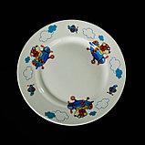 """Набор детской посуды """"Пилот"""", 3 предмета: тарелка 17,5 см, миска 250 мл (d=17,5 см), кружка 260 мл , рисунок МИКС, фото 5"""