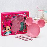 Посуда детская, Минни Маус, фото 3