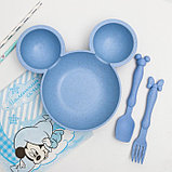 Посуда детская, Микки Маус, фото 2