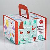 Набор детской посуды «Сладкоежка»: кружка 250 мл, тарелка Ø 17.5 см, салфетка 35 × 22 см, фото 6