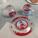 """Набор для завтрака """"Леди Баг и Супер Кот, Париж"""", 3 предмета, в подарочной упаковке, фото 4"""