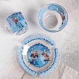 """Набор посуды детский """"Холодное сердце"""", 3 предмета, фото 2"""