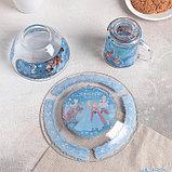 """Набор посуды детский """"Холодное сердце"""", 3 предмета, фото 3"""