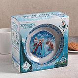 """Набор посуды детский """"Холодное сердце"""", 3 предмета, фото 4"""