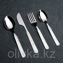 Набор столовых приборов Amet «Колобок», 4 предмета, толщина 1,5 мм