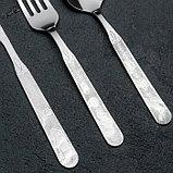 Набор столовых приборов «Топтыжка», 4 предмета, толщина 1,5 мм, фото 2