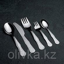 Набор столовых приборов Amet «Лёвушка», 5 предметов, толщина 1,2 мм