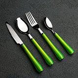 Набор столовых приборов «Леденцы», 4 предмета в тубе, цвет МИКС, фото 4