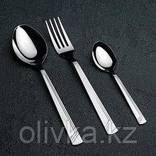 Набор столовых приборов Добросталь (Нытва) «Аппетит», 18 предметов, толщина 2 мм