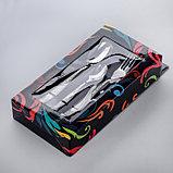 Набор столовых приборов «Уралочка», 18 предметов, в картонной коробке «Витрина», фото 3