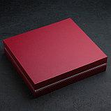 Набор столовых приборов «Уралочка», 30 предметов, толщина 2 мм, декоративная коробка, фото 5
