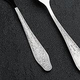 Вилка столовая «Дубрава», h=19,5 см, толщина 2 мм, фото 2