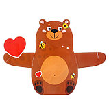 Ложечка сувенирная в фигурной открытке «Я тебя люблю», фото 4