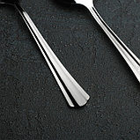Ложка столовая «Новинка», h=20 см, толщина 1,2 мм, упрощённая обработка, фото 2
