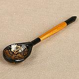 Ложка «Золотая кудрина», 14,7×3,5 см,  микс, фото 4