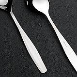 Ложка столовая «Визит», h=19,3 см, толщина 2 мм, фото 2