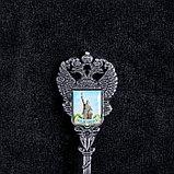 Ложка в форме герба «Белгород. Памятник Князю Владимиру», фото 3