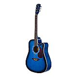 Акустическая гитара Adagio KN41 BLS, фото 2