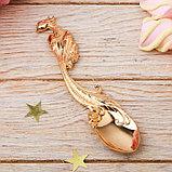 Ложка сувенирная на открытке «Любимая мама», фото 3