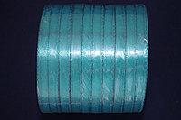 Атласная лента 5 мм. - морская волна (47А)