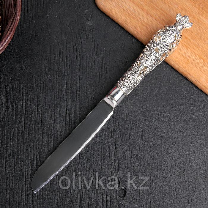 Нож для торта «Свадьба», h=22 см