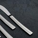 Набор ножей столовых «Прямая», h=23 см, 6 шт, фото 2