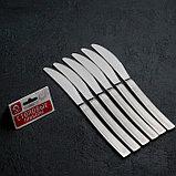 Набор ножей столовых «Прямая», h=23 см, 6 шт, фото 4