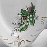 """Набор столовый """"Цветы"""", 10 предметов, микс, фото 4"""
