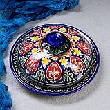 Набор для блинов Риштан, 7 предметов: блинница 30см, 6 тарелок 17см, фото 2