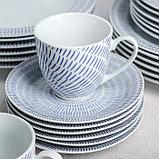 Сервиз столовый «Антик», 24 предмета, цвет белый, фото 2
