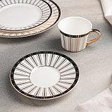 Набор столовый «Барон», 8 предметов: кружка 200 мл, тарелки 26,5/20,5/15,5 см, вилка, 2 ложки, нож, фото 3
