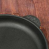 """Сковорода чугунная порционная """"ХОРЕКА"""", 140 х 25 мм, ТМ BRIZOLL, фото 5"""