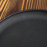 """Сковорода чугунная блинная """"ОПТИМА-BLACK"""", 240 х 15 мм, ТМ BRIZOLL, фото 3"""