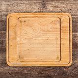 """Сковорода чугунная квадратная гриль """"ХОРЕКА"""" с подставкой, 180 х 180 х 25 мм, ТМ BRIZOLL, фото 6"""