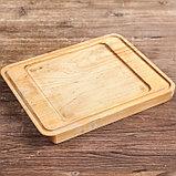 """Сковорода чугунная квадратная гриль """"ХОРЕКА"""" с подставкой, 180 х 180 х 25 мм, ТМ BRIZOLL, фото 7"""