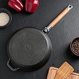 Сковорода 24 см, съемная ручка, фото 4