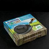 Сковорода-гриль 28 см, со съёмной ручкой, чугунная крышка, фото 7