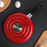 Сковорода блинная «Доляна», 22 см, фото 3