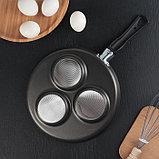 Сковорода «Хит», 24 см, порционная, фото 3