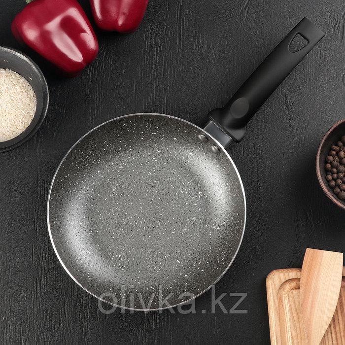 Сковорода «Eco.Grey» 20 см, с антипригарным покрытием, ручка soft-touch, индукционное дно