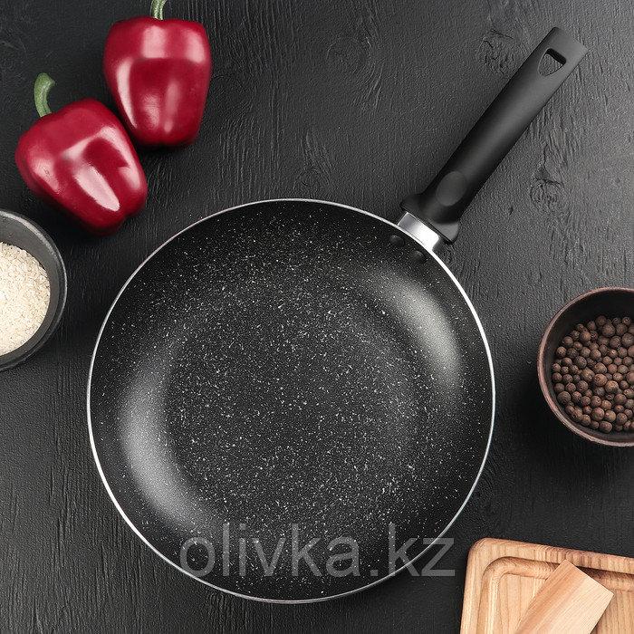 Сковорода «Eco.Black» 26 см, с антипригарным покрытием, ручка soft-touch, индукционное дно