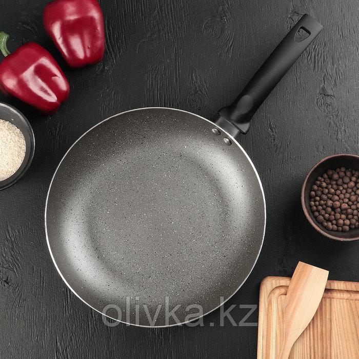 Сковорода «Eco.Grey» 26 см, с антипригарным покрытием, ручка soft-touch, индукционное дно