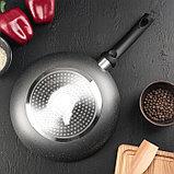 Сковорода «Eco.Grey» 26 см, с антипригарным покрытием, ручка soft-touch, индукционное дно, фото 3