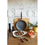 Сковорода 26 см Mountain Grey, антипригарное гранитное покрытие, ручка soft-touch, индукционное дно, фото 6