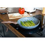 Сковорода 26 см Mountain Grey, антипригарное гранитное покрытие, ручка soft-touch, индукционное дно, фото 8