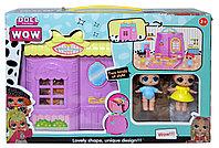 623С LOL ЛОЛ 2 куклы домик-сумочка 22*32см (реплика,не оригинал)