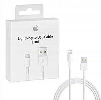 Оригинальный кабель Apple Lightning to USB для Iphone, Ipad или Ipod (MD818ZM/A, 1м)